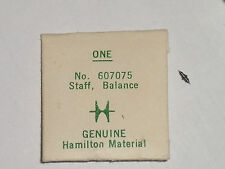 Hamilton balance staff 902 904 912 916 918 922 3050 d.r piv.10 Unruhwelle 607075