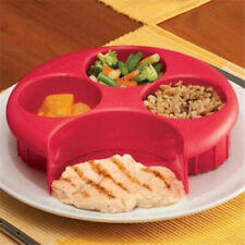 1x Meal Measure Weight Loss Diet Portion Plan Control Plate Manage Control Plate