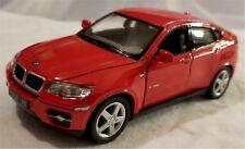 Kinsmart - 1:38 Scale Model BMW X6 Red (BBKT5336DR)