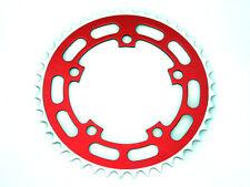 "Single Speed BMX Alu 7075 Bike Chainring 1/8"" x 44T x 110mm BCD Red"