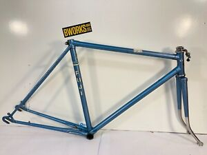 Fuji Touring Road Bicycle Frame Fixie Fixed Gear 54 cm Lugged Steel Frameset