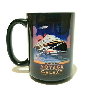STAR WARS Disney Cruise Line DCL Exclusive Coffee Cup Voyage Through The Galaxy