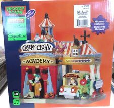 Lemax 2015 Spooky Town Halloween, CREEPY CLOWN ACADEMY #55905 New in Box