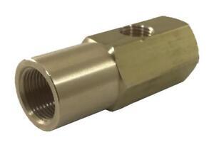 "EN17147 Brass Siphon Nozzle Adapter 1/8"" NPT Oil Intake For Delavan 17147"