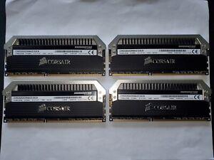 ✔✔ CORSAIR Dominator PLATINUM 32GB (4x8GB) DDR3 2133MHz ✅CL9✅ PC3-17000