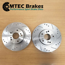 Fiat Panda 1.2 2012- Front Brake Discs Drilled Grooved 257mm