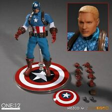 Mezco Marvel Captain America Version one:12 Collective Aciton Figure !!