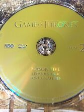 Game of Thrones Season 5 REPLACEMENT DVD Disc #2 ONLY