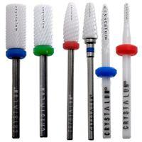 CRYSTALUM® Ceramic Nail Drill Bit Electric File Manicure Pedicure Nail Art Tool