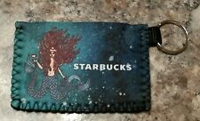 Starbucks Siren Card Wallet Key Tag Keychain Holder Limited  VHTF