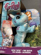 Hasbro furReal Hoppin' Topper Interactive Plush Dinosaur Pet Kid Toy FREE SHIP