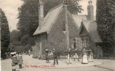BRISTOL :  THE SWING AT CLIFTON ZOO  (  SENIOR & Co )( Postally Used 20/04/1910