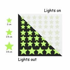 Glow in The Dark Stars and Free Removable Full Moon Wall Stickers 220 adhesive G
