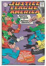 Justice League of America #56 (VF) 1967