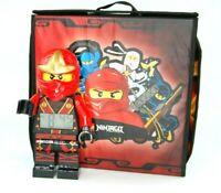 LEGO Ninjago- Kai Alarm Clock+ Ninjago Masters of Spinjitzu Bag+ Arrow