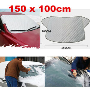 Car SUV Windscreen Cover Snow Frost Ice Winter Sun Shade Dust Protector Shield