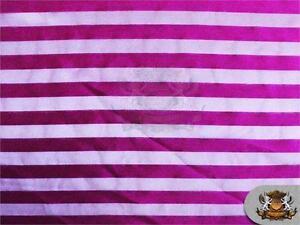 "Organza Stripes Fabric Fuchsia 60"" Wide Sold by the yard"