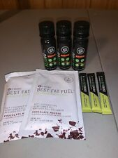 It Works Sample Pack Try B4 U Buy-3 Keto Energy, 3 Keto Go, 2 Best Fat Fuel