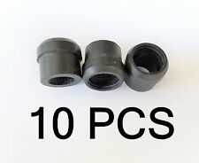 10 PPC WS500 1/2in F81 Coax Port Seal Rubber Grommet RG6 CATV Cable Weather Boot