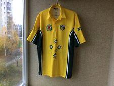 AUSTRALIA Cricket 2001/2002 Jersey 2XL Fila Camiseta OLD ACB