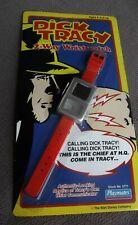 Dick Tracy 2 way wrist watch Playmates Walt Disney 1990 Wristwatch Nos