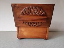 Vintage Wooden Reuge Music Box Art Nouveau Style Need Attention Musicbox Musical