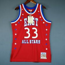 100% Authentic Larry Bird Mitchell & Ness 1983 All Star Game Jersey Size 44 L