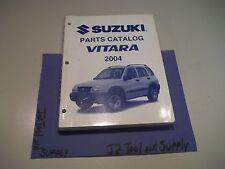 +2004 SUZUKI VITARA PARTS CATALOG