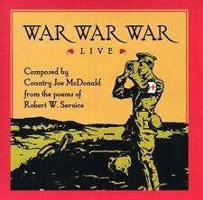 Country Joe McDonald - War War War Live [New CD]