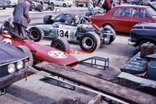PHOTO  MONOPOSTO FORMULA CARS ARE PREPARED IN THE PADDOCK. MANY OF THE CARS IN T