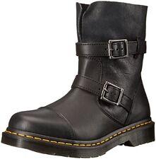 Dr. Martens Women's Dr. Martens Kristy in Black Virginia Leather Boot, black vir