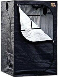 GEOPOT LIGHT ROOM Indoor Grow Tent 2ft x 4 ft Diamond Mylar Reflective NEW