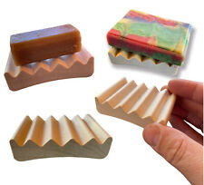 """28 mini soap dishes - 2.75"""" x 2"""" natural wood soap - Made in USA"""