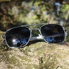 HUMVEE Pilot Sunglasses - Silver 52mm
