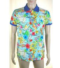 Polo Maglia Uomo FRANKLIN & MARSHALL T-Shirt Made in Italy Multicolore L039 Tg L