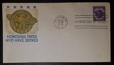 USA HONORING THOSE WHO HAVE SERVED FDC 1946 (NoL294)*
