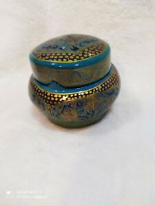 Beautiful Small Decorative Indian pressed Paper Storage gift Box