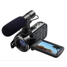 24MP 3'' 1080P H.264 Wifi 16X Zoom Digital Video Camera Camcorder+Microphone+Bag