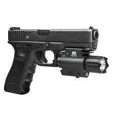 NcSTAR AQPFLSG Tactical Green Laser Sight 3w 200 Lumen LED Flashlight QR Mount