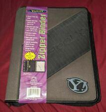 Yahoo Zipper Binder 3 Ring Brand New Vintage 1999 Trapper Keeper School Yahoo