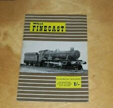 WILLS FINECAST ILLUSTRATED CATALOGUE LOCOMOTIVES KITS & FITTINGS OO GUAGE