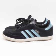 Adidas Samba Soccer Shoe Sz 7.5 Blue Suede