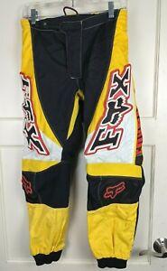 Fox Racing 180 Racepants Blue Motocross Racing Size: 30