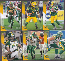 2014 CFL UPPER DECK #28 FRED STAMPS EDMONTON ESKIMOS