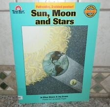 SUN, MOON and STARS Evan-Moor GRADES 1-3 Science Mini-Unit 2-sided POSTER NEW
