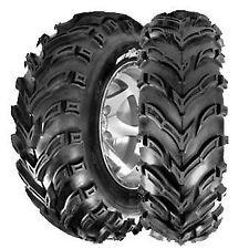 (2) GBC 25X12-9 25X12X9 DIRT DEVIL FRONT/REAR ATV TIRES