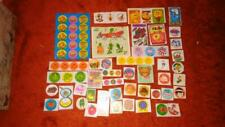 Vintage Scratch and Sniff and Trend Stickers Lot