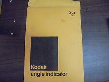 VINTAGE Kodak Angle indicator Q-31