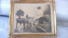 lithographie ancienne signée. old lithography.  Louis ICART (1888-1950) cote+++