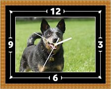 Australian Cattle Dog Clock Gift Present Christmas Birthday(Can Be Personalised)